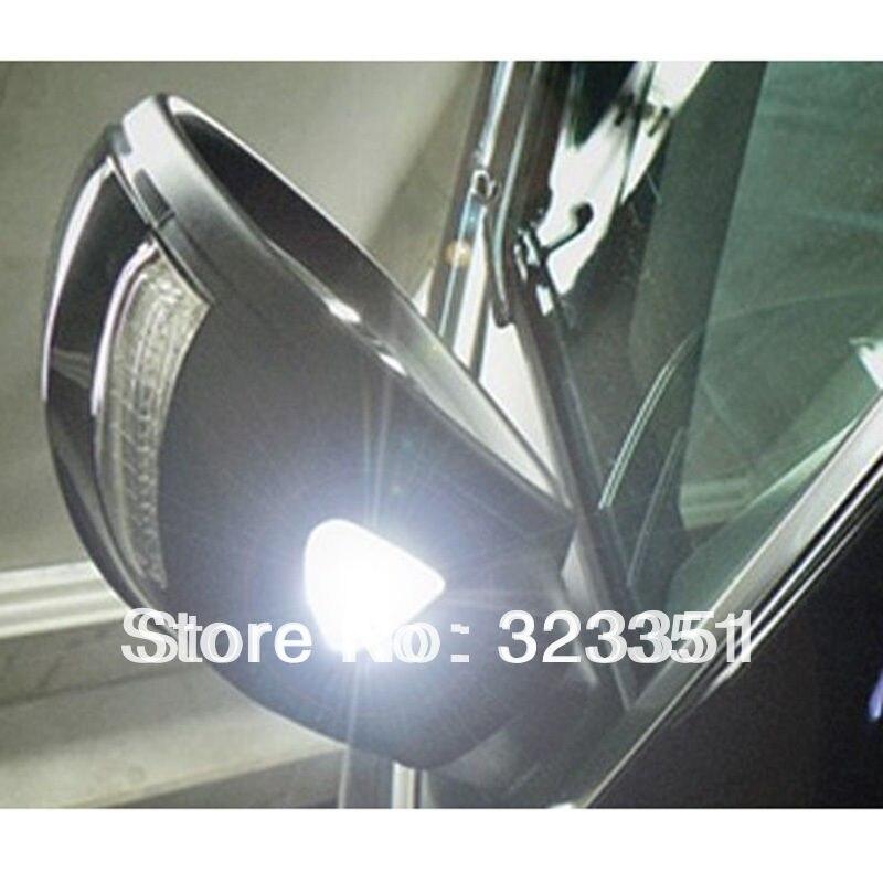 2PC White LED Super Bright Side Mirror Light Lamp for VW Passat B7 Scirocco CC<br><br>Aliexpress
