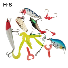 Buy Fishing Lures Bait Kit Artificial 15pcs Mixed Minnow/Popper Spinner Spoon Lure Hook Isca Fish Lure Set Pesca for $10.00 in AliExpress store