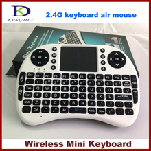 5pcs/lot Mini Wireless keyboard for Touchpad 2.4G Fly Air Mouse Combo Teclado for HDPC Win7 Pad forPS3 Andriod TV Box