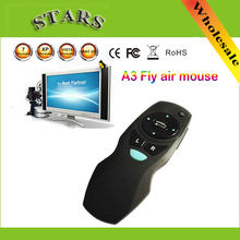 2.4G Wireless A3 Fly Air Mouse Remote Control & Laser pointer For Android TV Box Smart TV Dongle HTPC,Wholesale Free Shipping