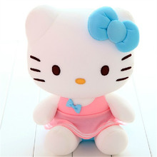 30 CM Hello Kitty Plush Toy Doll Skirt Foam Particles KT Cat Dolls Cute Birthday Gift