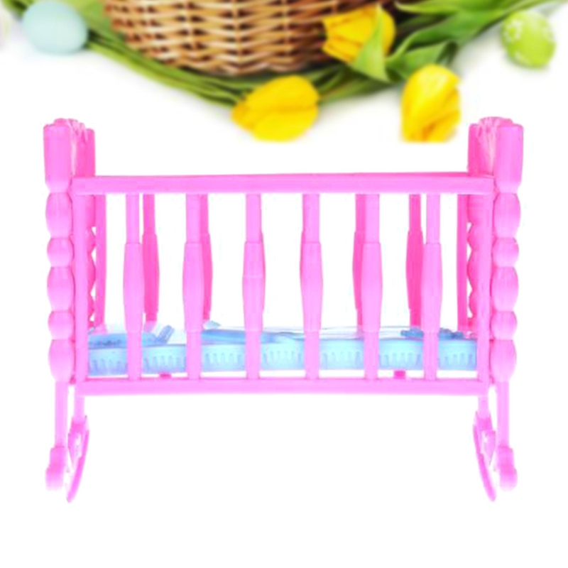 Baby Dolls Amiable Kids Girls Pink Bunk Bed Baby Doll Children Xmas Gift Toy Pillow Birthday New