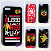Laser Technology NHL Chicago Blackhawks fashion cell phone case cover for iphone 4 4s 5 5s 5c SE 6 6s plus 7 plus #N8222