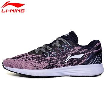 Li-Ning Femmes de 2017 Vitesse Star Coussin Chaussures de Course Respirant Sneakers Textile Lumière Sport Chaussures ARHM082 XYP472