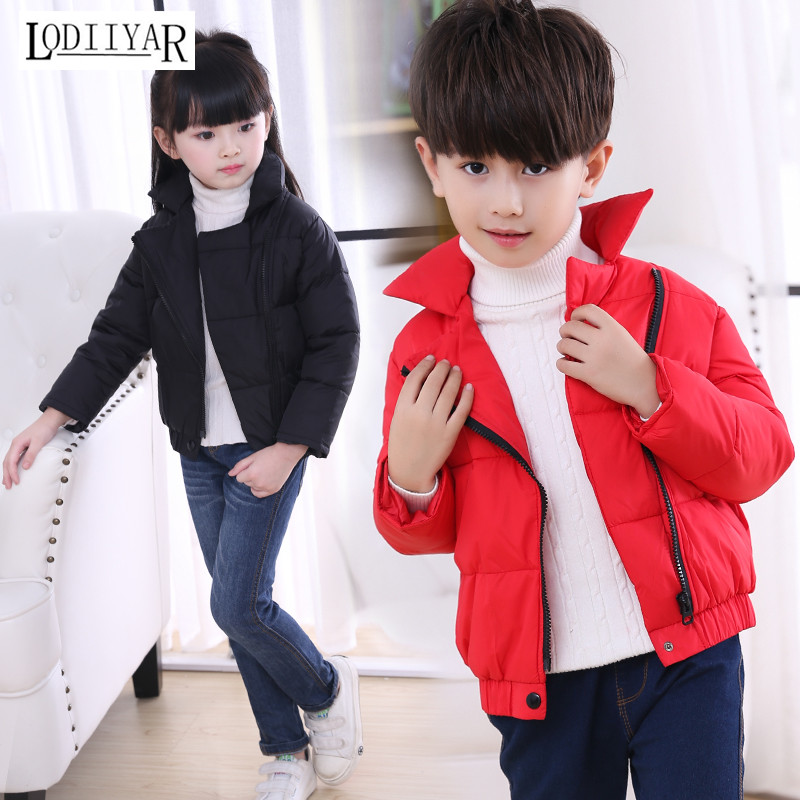 Down Coat For Baby Boys, Casual Long Sleeve Jacket Thick Warm Coat, Kids Boys Girls Winter Jacket, Down Coat Children ClothingОдежда и ак�е��уары<br><br><br>Aliexpress
