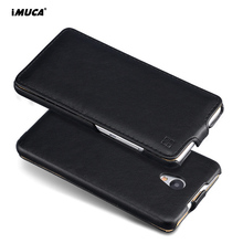 For Meizu M5 Note Case Leather Wallet Phone Bag Cover Flip Case For Meizu M5 M 5 Note Cover Coque 5.5 iMUCA Original Phone Cases(China)