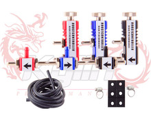 KYLIN STORE -- UNIVERSAL ADJUSTABLE TURBO 30 PSI MANUAL TURBO BOOST BYPASS CONTROLLER KIT Blue Red Black bc001(China)