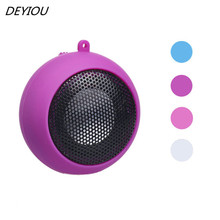 DEYIOU Mini Portable Hamburger Speaker Amplifier For iPod For iPad Laptop For Phone Tablet PC Free Shipping NOA23(China)