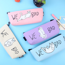 Pencil Case Canvas School Supplies Kawaii Bts Stationery Gift Estuches School Cute Pencil Box Pencilcase Pencil Box High Quality