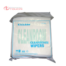 150pcs/bag 9'*9' cleanroom wiper for roland mimaki mutoh infiniti gongzheng witcolor human challenger printer duct cloth(China)