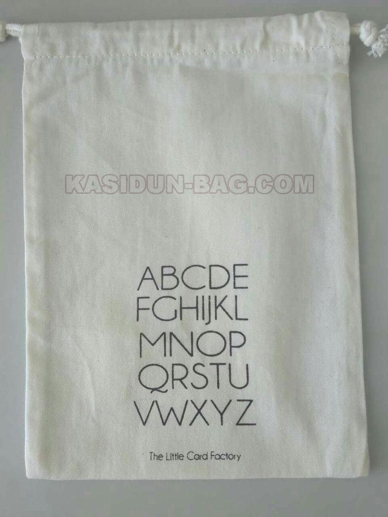 aangepaste katoenen tas