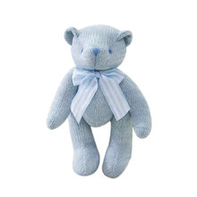 Teddy Wool Knitting Dolls Plush Toy Movable Joints Lovely Cute Kids Variety(China)