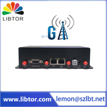 reasonable price T270-DE2 industrial grade 4g lte gateway cellular bus wifi router for ad pushing application