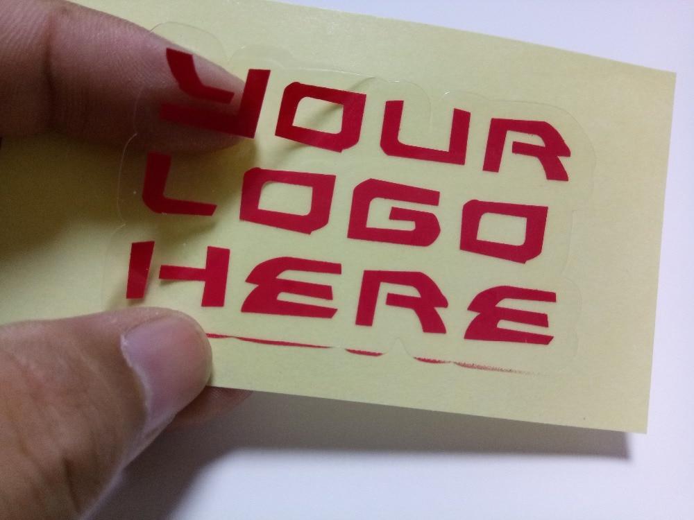 55x30mm gold foil sticker, make a sample<br>