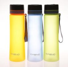 High Quality 1000ml Protable Scrub Water Bottles With Rope Sports Travel Plastic Space My Shaker Bottle Eco-Friendly(China)