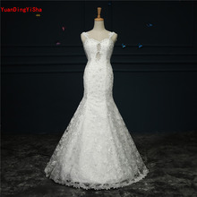 Buy Real Photos Sexy Lace Mermaid Wedding Dress 2017 Sweetheart Backless Vestido De Novia Beading Bridal Gown Dresses Pearls for $216.00 in AliExpress store