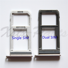 New Dual SIM/ Single SIM Micro SD Card Holder for Samsung Galaxy S7 G930F/ S7 Edge G935F OEM SIM Card Tray Slot Replacement Part