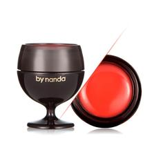 By Nanda Lipstick Red Wine Cup Jelly Lip Balm Fruity Moist Lasting for Lips Nourish Care Plant Extract Makeup Lip Gloss 3 Color