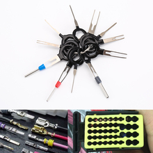 11Pcs/Set Terminal Removal Tools Car Electrical Wiring Crimp Connector Pin Extractor Kit Back Needle Remove Tool Set Tire Repair(China)