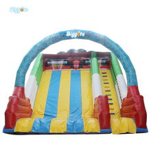 Free Shipping 6 Meters Height Giant Inflatable Jumping Castle Slide Inflatable Dry Slide Inflatable Water Slide