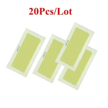 20pcs=10sheets New 0X Leg Body Hair Removal Depilatory Cold Wax Strips Papers Waxing Nonwoven(China)