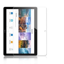 "9H BEST Tempered Glass film for Huawei Media T3 10 9.6"" TABLET PC Anti-shatter screen protector film HD LCD protective films"