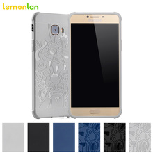 Lemonlan Fashion For Samsung Galaxy C5 C5000 Phone Case 3D Dragon Soft Silicon TPU Shockproof Armor Back Case Cover