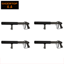 Free Shipping 4pcs/lot By fedex CO2 Air Pistol Shoot 6-10 Meter China TP-T62 CO2 DJ Cannon CO2 Pellet Gun TIPTOP Stage Lighting(China)