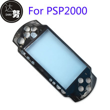 20Pcs for Sony PSP 2000  Front Faceplate Shell Case Console Face Plate black for psp 2000 face cover