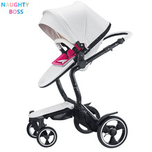 Luxury Baby Stroller High foofoo View Prams European Folding Poussette Kinderwagen bebek arabas(China)