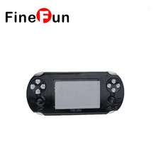 FineFun 2017 New 3.5inch Touch Screen WiFi android Game Console Support PSP Games Bulit In 4GB Memory Child's gift #A1369(China)