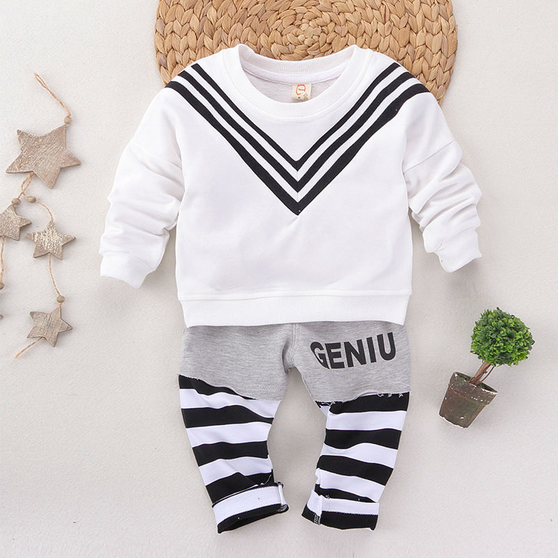 Baby clothes baby clothing sets of winter clothing two suit sportswear clothing for boys navy style Christmas set<br><br>Aliexpress