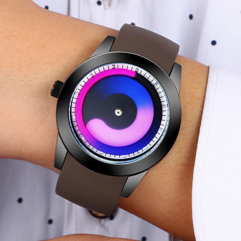 2017 New Design Creative Men Watches Top Brand Luxury Silicone Strap Sports Watches Men Quartz Watches Relogio Masculino hodinky<br>