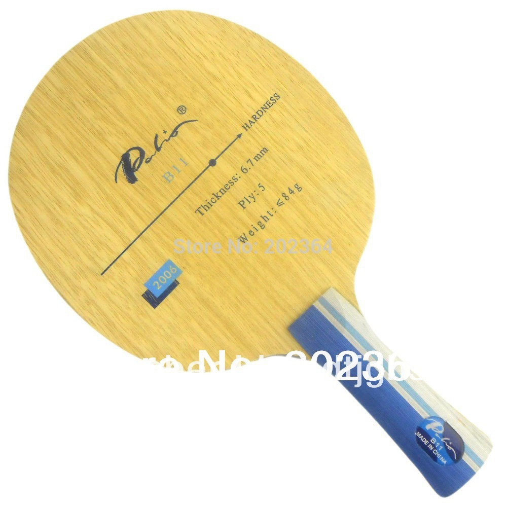 Palio B11 (B 11, B-11) Wood (ALL+) Table Tennis Blade for PingPong Racket<br>