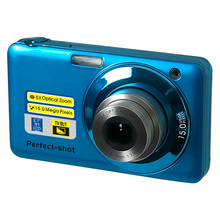 5x optical zoom digital camera with 2.7'' TFT display and 4x digital zoom digital video camera free shipping