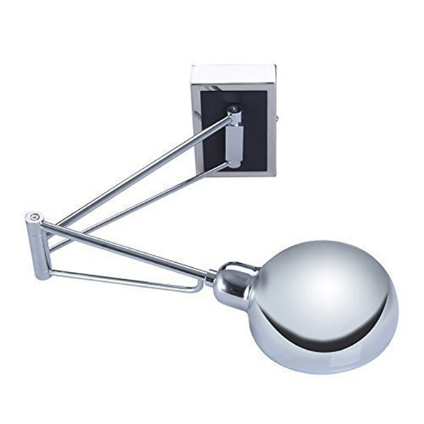 Modern New Design Bedroom Bedside Lamp Wall Hanging Lamp Reading Light E14 Lamp Base with Flexible Arm and Switch<br>