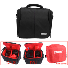 Buy CADeN Waterproof Camera Case Bag Rain Cover Canon Nikon Sony Pentax Olympus Panasonic Samsung DSLR Camera D3 Black for $26.23 in AliExpress store