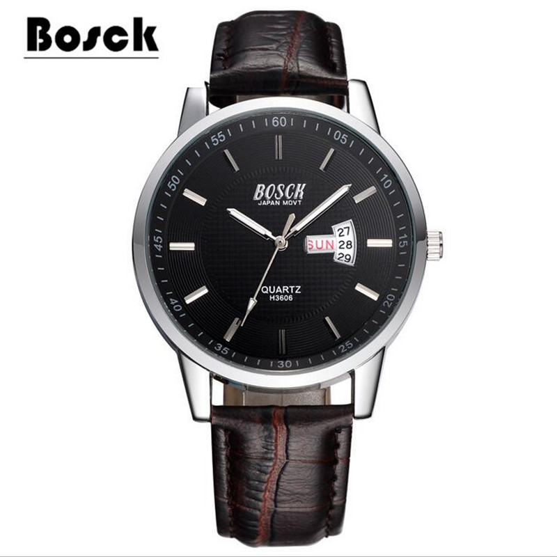 BOSCK3606 ladies watches, mens watches, stainless steel waterproof luminescent casual fashion watches clock relojes hombre<br><br>Aliexpress