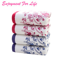 Face Flower Towel Bamboo Fiber Quick Dry Towels For 1PCS 34*75cm Soft Cotton   High Quality New Arrival Free Shipping Nov 9