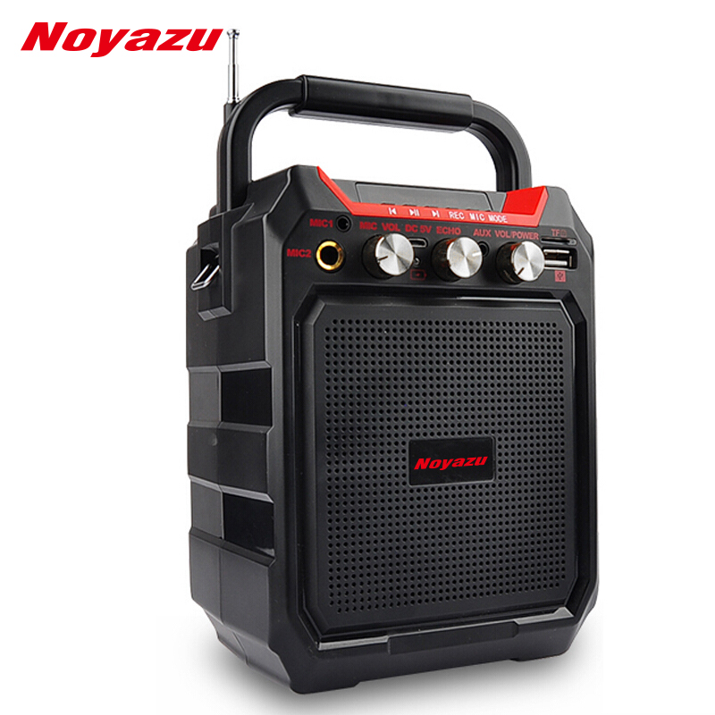 Noyazu K99 Wireless Portable Bluetooth Speaker Wireless Speaker Sound System 3D Stereo Music Support AUX FM TF card paly<br>