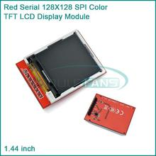 "Replace  5110 LCD 1.44"" Red Serial 128X128 SPI Color TFT LCD Display Module"