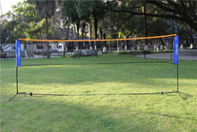Popular And Hot Sale  4.2*1.5M Portable And Adjustable Badminton / Volleyball/ Tennis Net With Stand