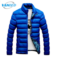 4XL Plus Size 2017 New Men Jacket Autumn Winter Hot Sale High Quality Men Fashion Coat Casual Outwear Cool Design Warm Jacket(China)