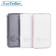 5000 mah Touyinger Everycom S6 plus Mini pocket projector dlp wifi portable Handheld smartphone Projector Android AC3 Bluetooth(China)