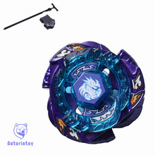1pcs Beyblade Metal Fusion 4D set  Omega Dragonis 85XF BB128 kids game toys children Christmas gift with launcher