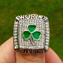 Sales Promotion 2008 Boston Celtics Basketball Replica Championship Ring for Sport Fans