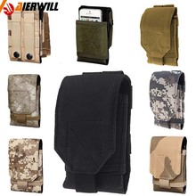 Universal Tactical Protect Package Portable Phone Radio Flashlight Pouch Bag Waist Belt Bagfor Iphone Samsung LG Sony  Huawei