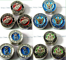 Free shipping United States Army series 10pcs floating locket memory charms fit memory floating locket as friend gift FC273
