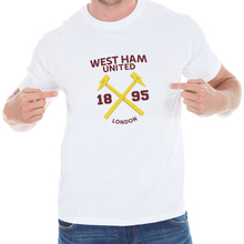2017 Hot sales West Ham United T Shirts Michail Antonio Andrew Carroll Short Sleeve Anciana Fans Club Cotton tshirt Tops(China)