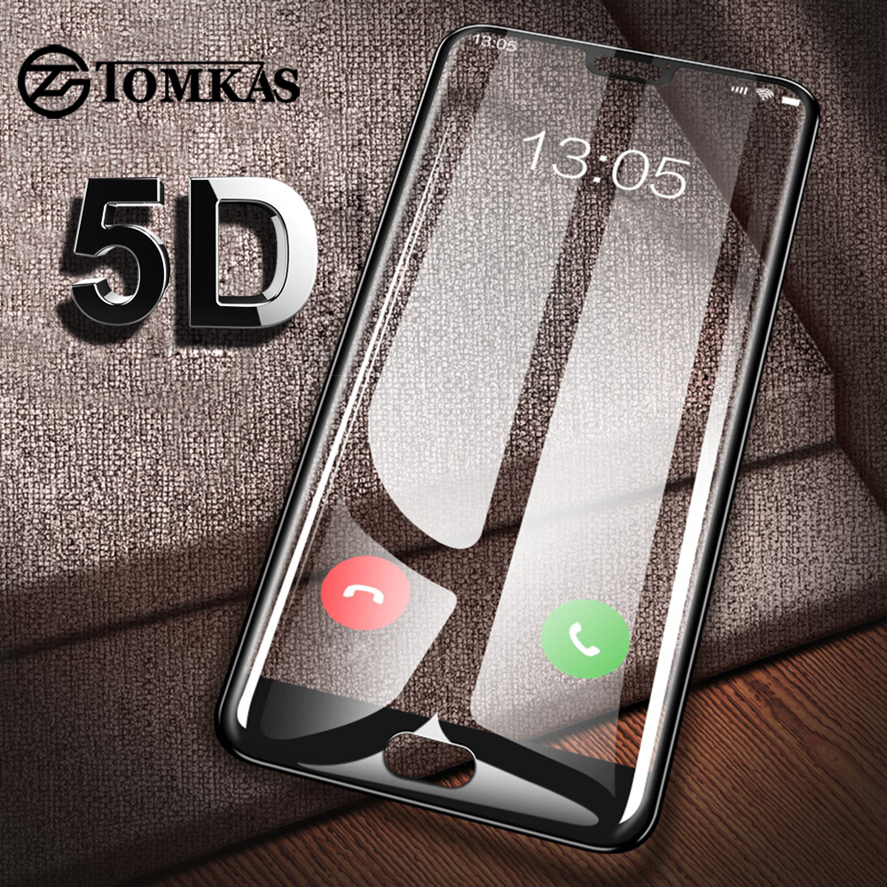 5D Glass For Huawei P20 Lite P Smart Glass Protector For Huawei Honor 9 Play P10 Mate 10 Lite P20 Pro Nova 2i Youth Glass Film